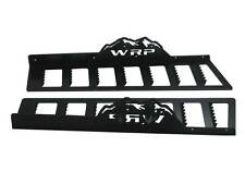WRP Mountain Tuff Running Boards 2000-06 Arctic Cat 1M, Black Powder Coat