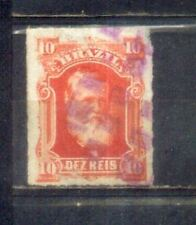 1878-79 Brazil Old Stamps 10 Reis