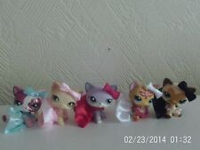 accessories for littlest pet shop 15 item skirt necklace bow lps cat not include