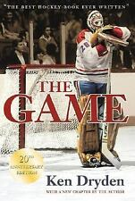 The Game by Ken Dryden (2003, HARDCOVER, Anniversary, Revised) Hockey Goalie