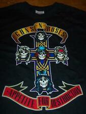 VINTAGE STYLE GUNS N' ROSES Appetite For Destruction T-Shirt SMALL Band  NEW
