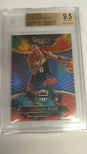 2014-15 SELECT DERRICK ROSE TYE-DIE REFRACTOR 4/25 BGS 9.5 WITH 3 SUBS'S 10