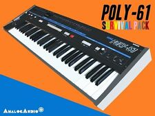 *** KORG POLY-61 Survival Pack - NEW STUDIO PATCHES + FACTORY SOUNDS