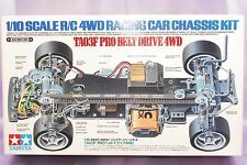 RARE TAMITA 1/10 RC TA03F PRO BELT DRIVE 4WD Racing Car Chassis Kit #58117 NEW