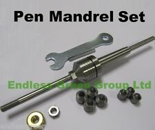 Endlessgreen -  Pen Mandrel Set -  for penmaking on Wood turning Lathe -  MT2