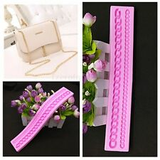 Long Chain Silicone Fondant Mould Cake Decorating Chocolate Baking Mold Tool