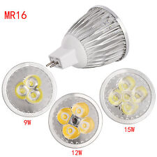 Dimmable LED Spot Lights Bulb COB/Epistar Lamp B22 GU10 MR16 GU5.3 6W 9W 12W 15W