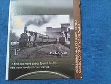 ROYAL MAIL FIRST CLASS STAMP. WELSH LOCOMTIVE