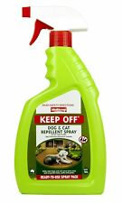 Keep Off Spray 750mL Multicrop Dog Cat Safe Repellent Deterrent  Eco Friendly