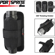 Rotating Flashlight Holster Pouch For Pelican 2380 LED Fenix E21 LD10 LD15 LD20