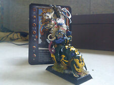 CONFRONTATION-DWARF-KHOR STANDARD BEARER ON RAZORBACK-PAINTED-RACKHAM