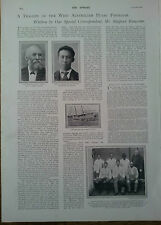 ARTICLE MURDER IN THE WEST AUSTRALIAN PEARL FISHERIES THE  SPHERE 1900