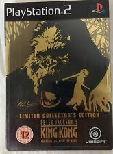 Peter Jackson's KING KONG - PS2 ~ Collector's Ediiton STEELBOOK with cards
