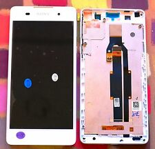 GENUINE WHITE SONY XPERIA E5 F3311 F3313 HD IPS LCD SCREEN DISPLAY FRAME
