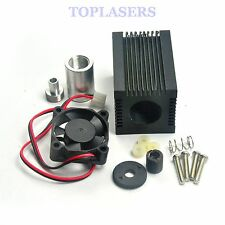 33x33x50mm 5.6mm Laser Diode Housing w/ Aluminium Parts & 405nm Collimating Lens
