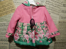 BNWT MISS BLUMARINE WOOL AND DOWN PUFF COAT AGE 12 MONTHS TAG PRICE £224