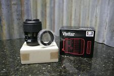 BRAND NEW Vivitar 100mm f/3.5 Macro MF Lens Nikon Mount FREE SHIPPING