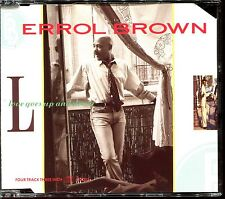 ERROL BROWN - LOVE GOES UP AND DOWN - 3 INCH 8 CM CD MAXI [1050]
