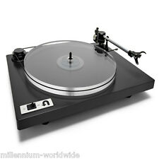 NEW - U-TURN ORBIT PLUS TURNTABLE, BLACK w/CARTRIDGE, CUE, BUILT-IN PLUTO PREAMP