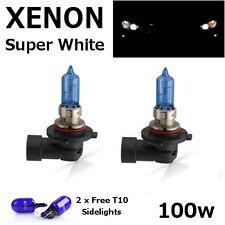 HB3 100w SUPER WHITE XENON (9005) Head Light Bulbs 12v VAUXHALL Astra G