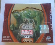 Marvel Origins vs. System Booster Card Box of 24 packs Sealed First 1st Edition