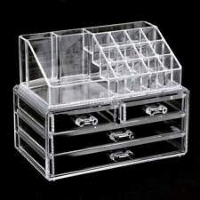 Acrylic Cosmetic Organizer  4 Drawers Drawer Makeup Case Storage Holder Box