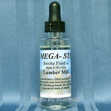 Mega Steam Train Scented Smoke Fluid LUMBER MILL For Bachmann Set HO N O G Lemax