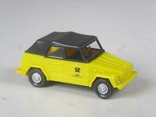 Raramente Wiking pubblicitari modello VW 181 portavasi Bundespost chiusa, versione precoce