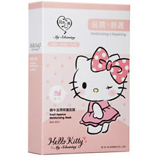 [MY SCHEMING] Hello Kitty Snail Essence Moisturizing & Repairing Facial Mask 5pc