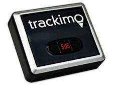 Trackimo GPS Vehicle Tracker - 1 Year GSM Service and 12 Volt Hardwire Kit