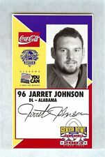 JARRET JOHNSON 2003 SENIOR BOWL ALABAMA CRIMSON TIDE ROOKIE CARD ROLL TIDE