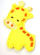 CUTE BABY GIRAFFE  Embroidered Iron Sew On Cloth Patch Badge  APPLIQUE