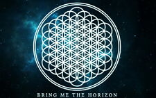 "143 Bring Me The Horizon - BMTH Metalcore Band Oliver Sykes 22""x14"" Poster"