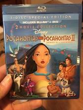 Pocahontas/Pocahontas II: Journey to a New Wor Blu-ray-2 movies !new sealed!!!!!