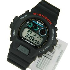 0*NEW* CASIO MENS G SHOCK BLACK WATCH FLASH DW-6900-1VDR   RRP£99