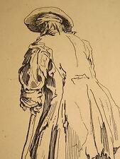 Jacques CALLOT (1592-1635)  GRAVURE HOMME GUEUX MENDIANT LORRAINE ECOLE NANCY b