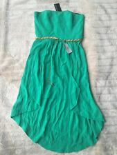 BNWT Forever New Danni Midi Dress Vibrant Green Size 12