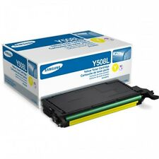 Genuine Samsung CLT-Y508L 4000 Page Yellow Toner for CLP-620ND, CLP-670ND