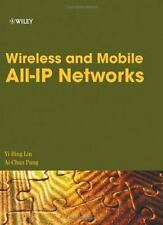 Wireless and Mobile All-IP Networks by Lin, Yi-Bing, Pang, Ai-Chun