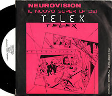 TELEX euro-vision / tropical 45RPM 1980 orig Italy PROMO with error on label B