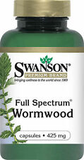 WORMWOOD  PARASITE BACTERIA WORMS DIGESTION CLEANSE  90 CAPS 425mg SWANSON