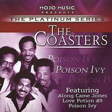 Poison Ivy by Coasters (The) (NEW CD, Jan-2004, Mojo Music) 13 TRACKS
