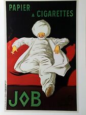 French Poster Art Deco Print 18x24 Sultan Smoking Pair Feast Gift Black Red