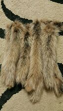 DYED MINK TAIL, CHARMING FUR TAILS, FOX, COYOTE, TAXIDERMY, PET TOYS M9