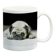 Cute pug dog ceramic mug coffee cup tea cup