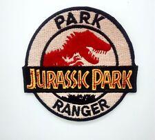 Jurassic Park Ranger PATCH  Aufbügler Aufnäher Abzeichen Bügelbild Patch Cap