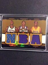 2006-07 Topps Triple Threads Relic GOLD..Kobe Bryant, Garnett, Stoudemire 4/9 $$