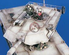 Verlinden 1/35 US Tank Crew in Iraq War (3 Half-figures) [Resin Model kit] 2277