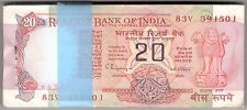 20 Rupee Bundle ★ C Rangarajan ★ Konark Wheel Issue ★ 100 Serial Notes ★ Rare ★