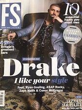 FS Magazine DRAKE Zayn Malik Gigi H Ryan Gosling Jazmine Sawyers Douglas Booth.